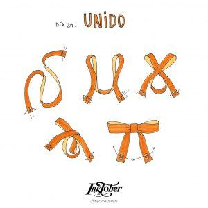 Inktober con Visual Thinking - Día 29. Unido - Raquel Cabrero