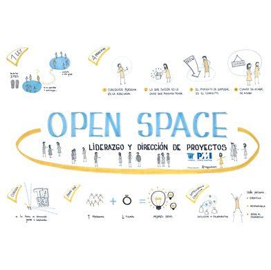 Visualización para Open Space sobre Liderazgo – PMI Madrid