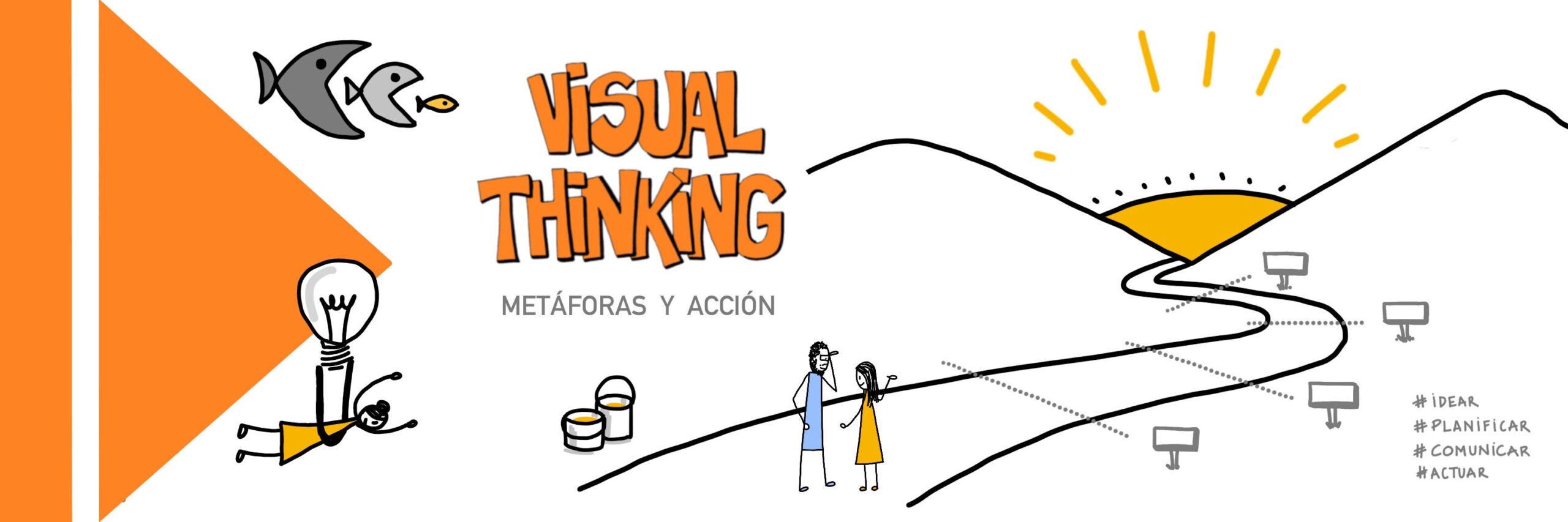 Taller Visual Thinking 2 - Metáforas visuales y planes de acción.